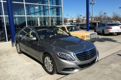2014 Mercedes Benz S550 just before buy 01302018 and 1981 Mercedes Benz 300SD